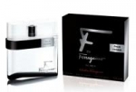 SALVATORE FERRAGAMO F by Ferragamo pour Homme Black EDT Tester - 100ml