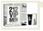 CAROLINA HERRERA 212 VIP Men Dárková sada EDT 100 ml a sprchový gel 212 VIP Men 100 ml - 100ml