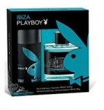 PLAYBOY Ibiza Dárková sada EDT 100 ml a deospray Ibiza 150 ml - 100ml