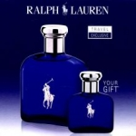 RALPH LAUREN Polo Blue Dárková sada EDT 125 ml a Polo Blue EDT 15 ml - 100ml