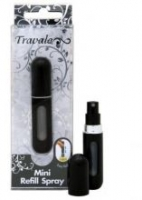 TRAVALO Mini Refillable Spray Black - 4ml